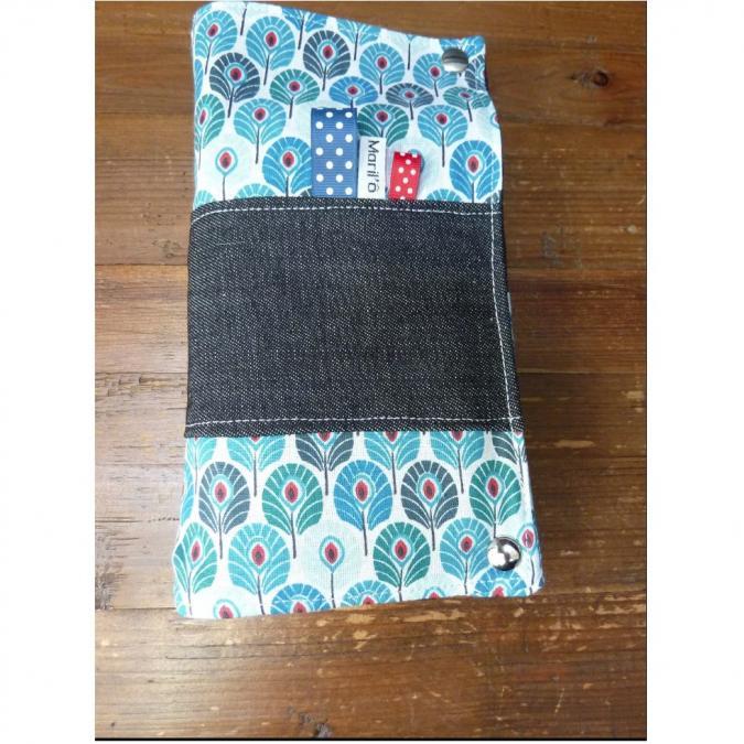 Ateliermarilo - Pochette à couvert 11 - Couvert - Bleu