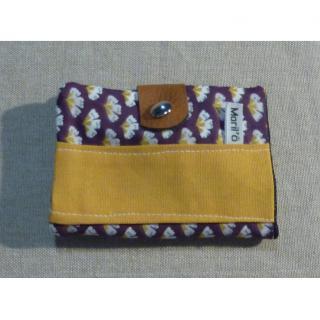 Ateliermarilo - Porte monnaie et carte 11 - Porte-carte - Violet