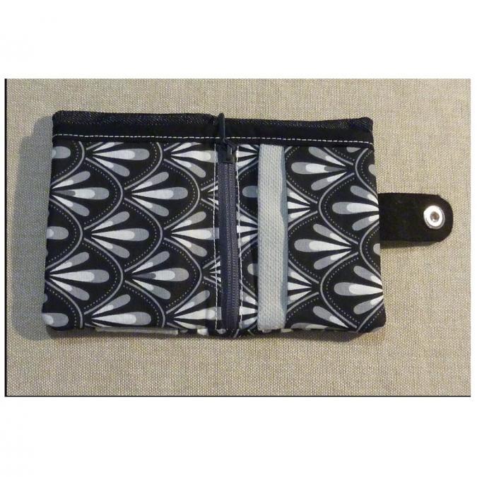 Ateliermarilo - Porte monnaie et carte 4 - Porte-carte - Noir