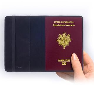 Atomania - J'me sens prêt pour un petit week end ! Version garçon  - étui passeport personnalisable au prénom de votre choix - Protège passeport