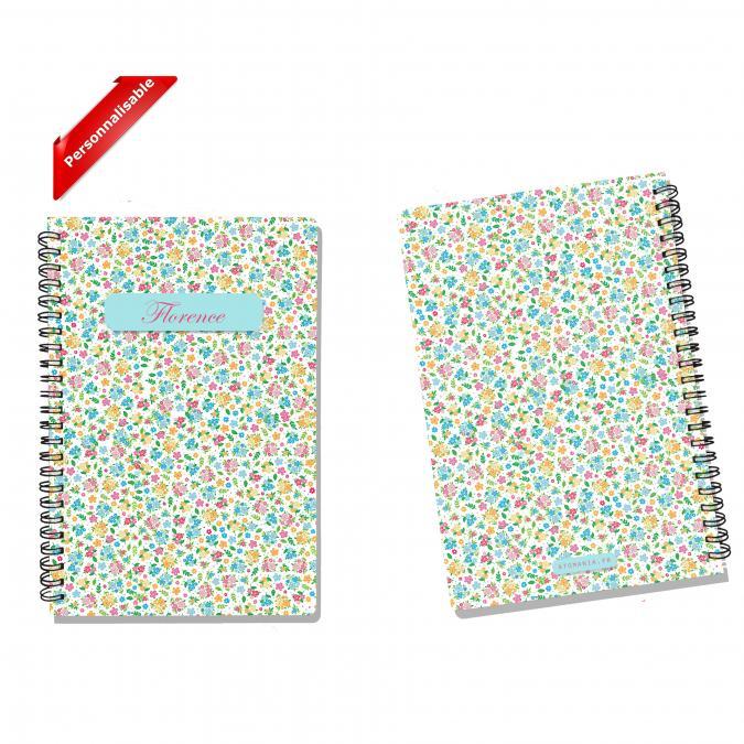 Atomania - Vive le Printemps ! - cahier personnalisable Atomania – impression recto verso – couvertures rigides –– A5 – cahier à spirale – 14 x 21cm - ___Papeterie - Carterie