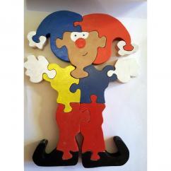 Au Joli Bois - Puzzle bonhomme bouffon du roi - jouet en bois