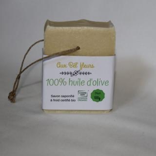 Aux bêl'fleurs - Savon 100% Olive - Savon - 0.100