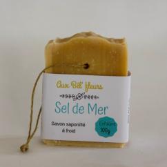 Aux bêl'fleurs - Savon Sel De Mer - Savon - 0.100