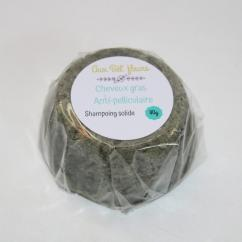 Aux bêl'fleurs - Shampoing Solide Cheveux Gras Antipelliculaire - Shampoing - 0.100