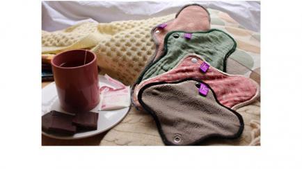BeautyWaps - Des serviettes hygiéniques lavables sûres, saines, confortables et belles.