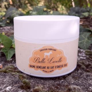 Belle Lurette - Baume Démêlant au Lait d'Ânesse Bio - masque cheveux