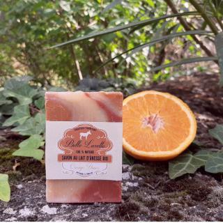 Belle Lurette - Savon au lait d'ânesse Bio Orange Douce - Savon - 0.1