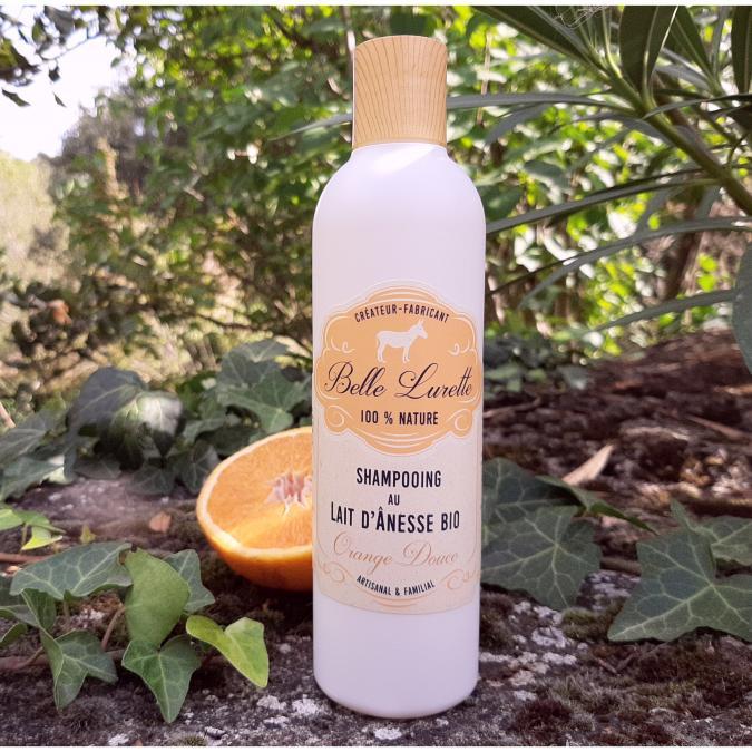 Belle Lurette - Shampoing au Lait d'Ânesse Bio - Shampoing - 0.25