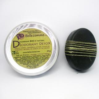 Bellecomme - Déodorant Détox bio et naturel - déodorant