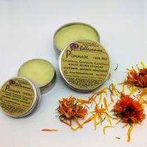 Bellecomme - Pommade 100% bio Calendula, Camomille, Guimauve - pommade