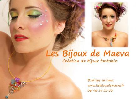 Bijoux by maeva - Création artisanale de bijoux fantaisie colorés