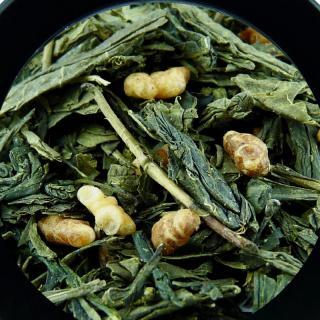 BIO THES DU MONDE - Genmaicha - Thé vert du Japon au riz soufflé - Thé - Thé vert