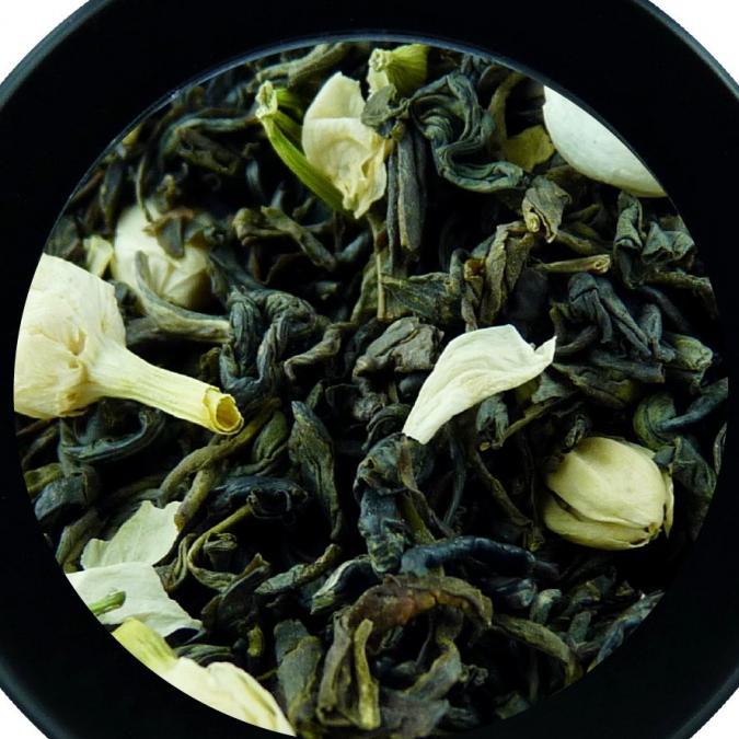 BIO THES DU MONDE - Jasmin - thé vert de Chine aux fleurs de jasmin - Thé - Thé vert