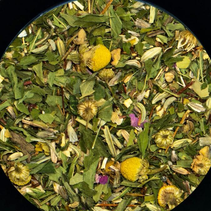 BIO THES DU MONDE - Rooibos au chanvre camomille - Infusion - Rooibos
