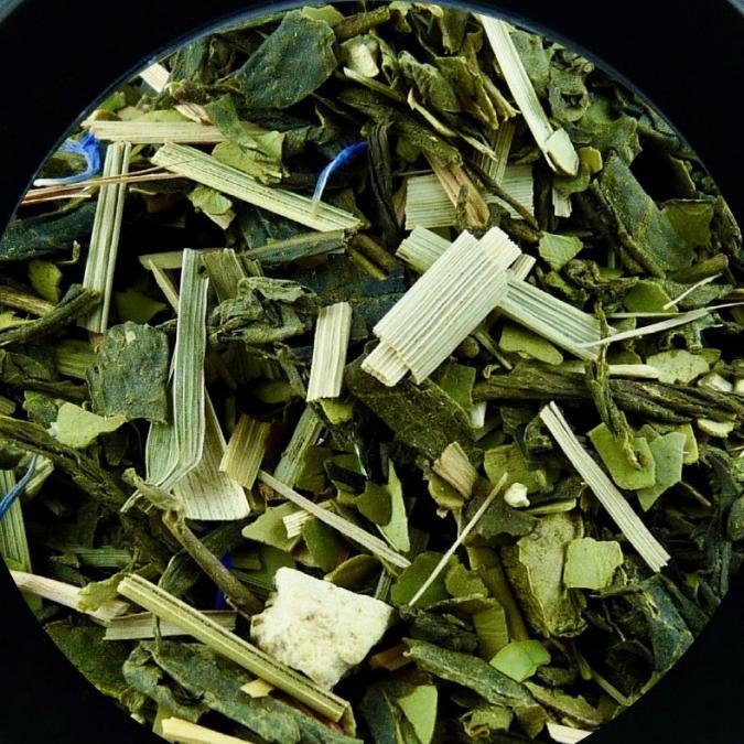 BIO THES DU MONDE - Thé vert, matcha et maté citronné - Thé - Thé vert