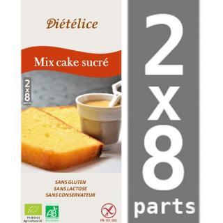 BMD SANS GLUTEN - Mix cake sucré sans gluten - kit patisserie