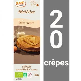 BMD SANS GLUTEN - Mix crêpes sans gluten - crêpe