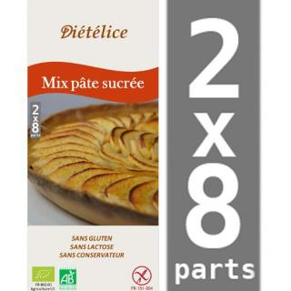 BMD SANS GLUTEN - Mix pâte sucrée sans gluten - kit patisserie