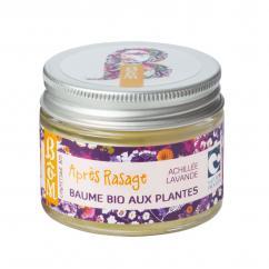 BôM - Baume naturel après-rasage aux extraits de plantes - Soin après-rasage - 30 ml