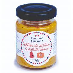 BON CHIC BON GOUT - Tartine potiron patate douce BIO - Tartinade