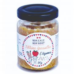 BON CHIC BON GOUT - Terrine épeautre petits légumes BIO - Tartinade