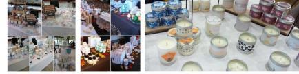 Améliane - Bougies naturelles parfumées. Fabrication 100 % artisanale, à l'ancienne.
