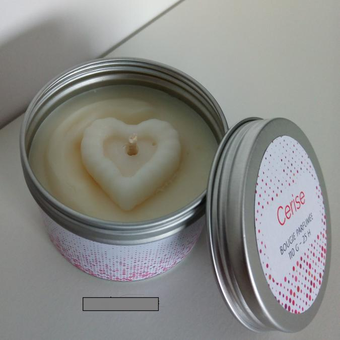 Améliane - Bougie parfumée Cerise - Bougie - Cerise (amarena)