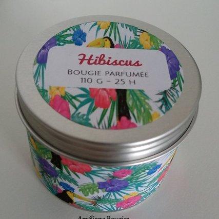 Améliane - Bougie parfumée Hibiscus - Bougie - Hibiscus