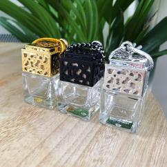 Bougies d'Elle - -15% Diffuseur Voiture & Dressing - Argent - Diffuseur de parfum