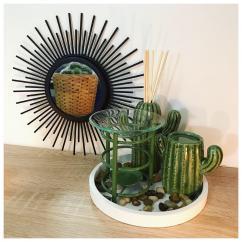 Bougies d'Elle - Plateau Cactus - Brûleur