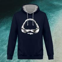 Breizh Traveller - Sweat capuche unisexe Requin / Shark - Australian Kiss - Sweat - au choix
