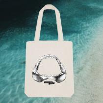 Breizh Traveller - Tote Bag Requin / Shark - Australian Kiss - Tote bag