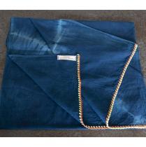 Brodeuse Voyageuse - Guizhou linéaire - Echarpe - Bleu