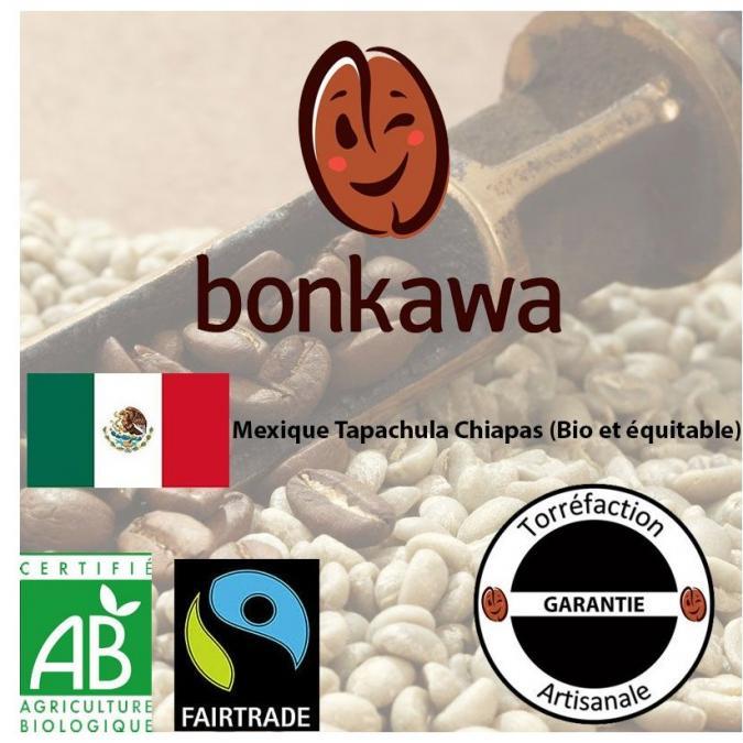 Buroespresso - Café Bonkawa - Mexique - Tapachula Chiapas - 250g en grain - Café - Café grain