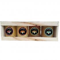 Butinons miel - Coffrets 4 x 250gr - Coffret, Panier (gastronomie)