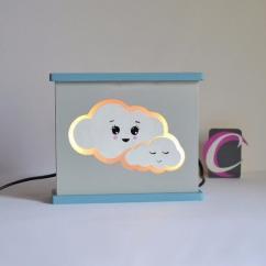 Cafouille Création - Veilleuse de décoration pour chambre d'enfant - Veilleuse