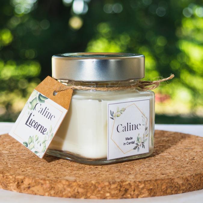 Caline - Licorne (80g) - Bougie - Fruit des bois, framboise, pomme