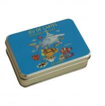 Carrément Jeu - JEU DE CARTES POISSONS TROPICAUX - Jeu de cartes