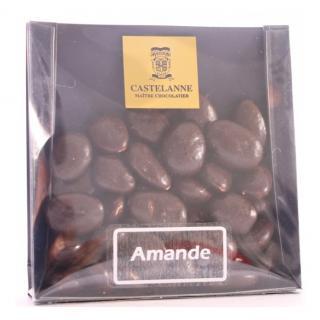 Maison Castelanne - Amandes Valence Noir - Chocolat