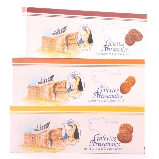 Maison Castelanne - Biscuit Galette Caramel Fleur De Sel - Biscuit