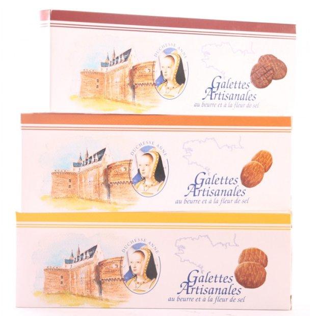 Maison Castelanne - Biscuit Galette Chocolat Fleur De Sel - Biscuit