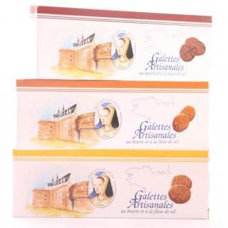 Maison Castelanne - Biscuit Galette Fleur De Sel - Biscuit