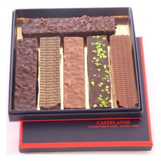 Maison Castelanne - Coffret 6 Bouchées - Chocolat