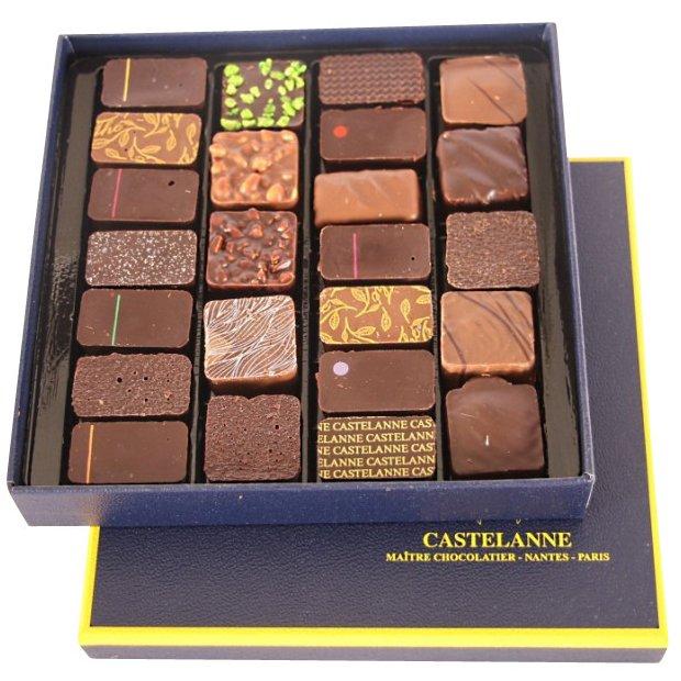 Maison Castelanne - Coffret Assortiment Maison 24 Chocolats - 200 g - Chocolat