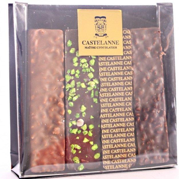 Maison Castelanne - Trousse D'Urgence 4 Bouchées - Chocolat