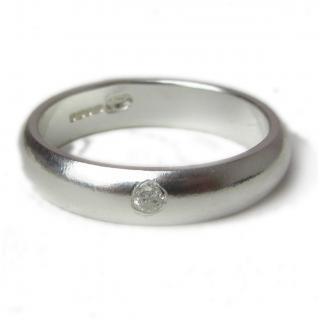938ceb2b4 Alliance Homme et femme en argent massif et diamant