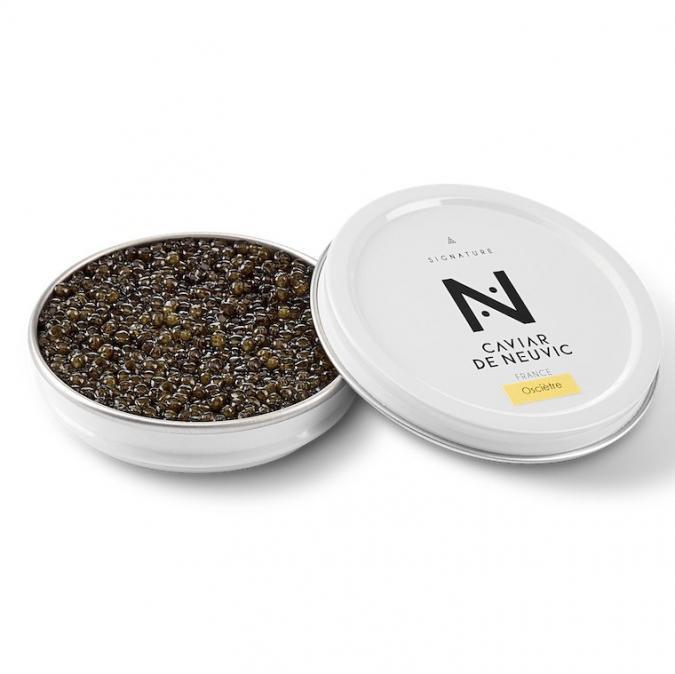 Caviar De Neuvic - Caviar Oscietre Signature 50 gr - Caviar