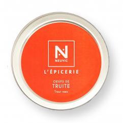 Caviar De Neuvic - OEUFS DE TRUITE 50 G - Oeuf de poisson