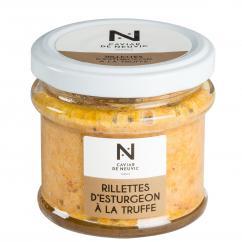 Caviar De Neuvic - Rillettes d'Esturgeon à la Truffe 90 gr - Rillettes -